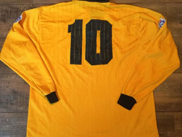 1995 1996 Hull City Match Worn No 10  L/s Home Football Shirt Adults XL